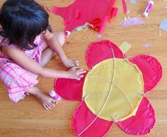 4. Fun #Shapes - 9 Easy DIY Kites to Make ... → #Lifestyle #Straws