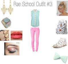 """""""Rae School Outfit #3"""" by niallsprincess99 ❤ liked on Polyvore"""