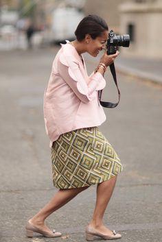 Tamu McPherson   International Style Stars: The Chicest of the Spring 2013 Streets   POPSUGAR Fashion