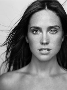 Jennifer Connelly ✾ www.colorfuleyes.org/contact-lenses/eye-colors/ #eyes