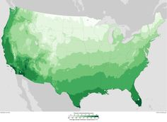 Warmer winters are sending planting zones on a march northward.
