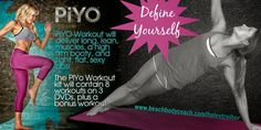 PIYO - Haley Treiber Get Happy, Are You Happy, Beachbody Piyo, Piyo Piyo, Get Healthy, Muscle, Workout, Sexy, Fitness