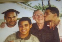 James and El DeBarge, with father(?)