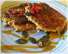 Herbalife Overnight Oats/ Bircher Muesli Pancakes Recipe: http://slinkyshakes.wordpress.com/2013/11/16/muesli-makeover-bircher-pancakes/