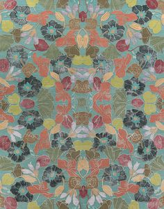 Best Flower - Caribbean | Milton Glaser for Lapchi collection | Certified child-labor-free by GoodWeave.