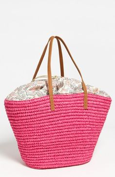 Straw Studios 'Classic' Tote available at Nordstrom