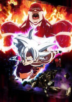 Tribute to Goku Vs Jiren Epic Dragon Ball Super Fight. Dragon Ball Super - Akira Toriyama The Power of Gods - Son Goku Migatte no Gokui Dragon Ball Z, Goku Dragon, Super Saiyan 3, Super Goku, Anime Figures, Anime Characters, Fictional Characters, Goku Vs Jiren, Dbz