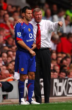 From Adidas to Umbro to Nike, Ryan Giggs wore 48 different strips during his 23 years in the Manchester United first-team. Manchester United Legends, Manchester United Players, World Football, Football Stuff, Football Players, Man Utd Squad, Barcelona Soccer, Fc Barcelona, Sir Alex Ferguson