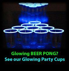 Glowing Beer Pong