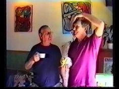 Præstø byspil og amatør scene øver sig i Bio Bernhard 1994. Jeg kan se at det er mig der udstiller mine malerier der på samme tid......hyggeligt.   Knus Svend Christensen
