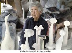 """""""I try not to think.  I try to just let it happen""""  Ruth Duckworth"""