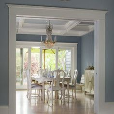 Thinking I need to paint my bedroom this color -  Sherwin Williams Meditative  SW 6227