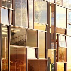 glas facade.