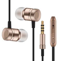 Professional In-Ear Earphone Metal Heavy Bass Sound Music Earpiece for iPhone 5 5S 5C SE fone de ouvido With Mic