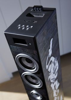 Multimedia Tower - Street. The music you love on a design soundtower. http://www.bigben-interactive.co.uk/produit/produit/id/6764