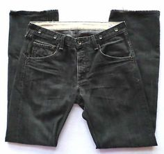 Mens Size 34x33 Rag & Bone Black Wash Jeans, Straight Relaxed Fit, Retail $185. Buy it Now $29.99