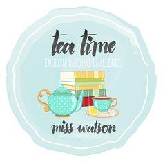 Miss Watson - liest Bücher, trinkt Tee & schreibt darüber [BLOG]: Tea Time English Reading Challenge 2016