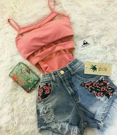 overall outfit casual Tumblr Outfits, Mode Outfits, Grunge Outfits, Teen Girl Outfits, Teenage Outfits, Outfits For Teens, Cute Casual Outfits, Cute Summer Outfits, Stylish Outfits
