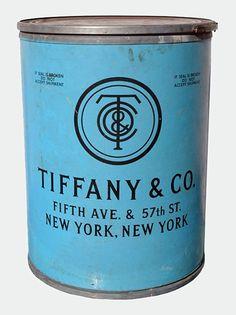 Vintage Tiffany's shipping barrel
