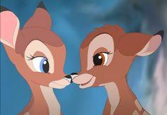 Bambi & Faline. Bambi