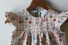 viola & pearl: simple yoke dress and blouse
