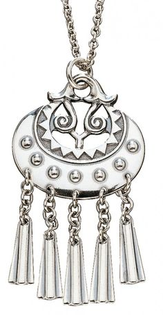Moon goddess pendant - Kuutar riipus www. Jewelry Shop, Pendant Jewelry, Jewelry Accessories, Pendant Necklace, Jewellery, Anchor Chain, Principles Of Art, Moon Goddess, Sirius Black