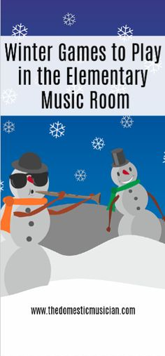 These music classroom games contain winter activities for elementary music that your students will love.
