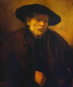 Always had the best focus and use of space with his portraits Rembrandt - WikiPaintings.org