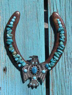 Turquoise Horseshoe