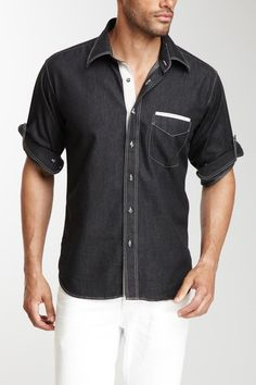 Juanno Black Shirt