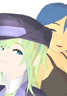 wailing nightmare's charactor Miss Shiina and  Miss Niku http://doukoku.com/