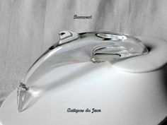 Baccarat Crystal Dolphin Vintage by AntiquesduJour on Etsy,