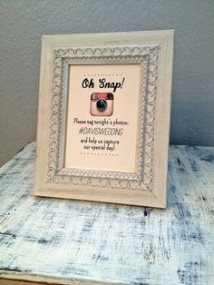 Wedding trends that are IN for 2014: Hashtags!