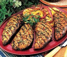 Grilled turkey cutlets.Cook on barbecue or gas grill turkey cutlets and get delicious and healthy meal.