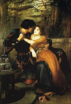 Paolo And Francesca by Edward Charles Halle