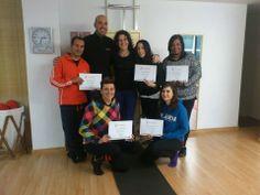 Curso de Pilates Springboard EVO-T Nivel I Ponferrada nov 2013 Con nuetra Master Training Emma Benet.