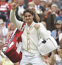 Roger Federer. The greatest in his time, and still going!