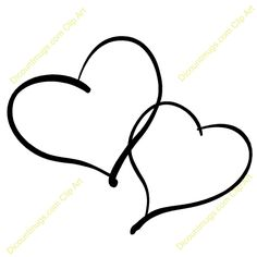 double heart tattoos for women | ... hearts intertwined keywords two hearts two hearts intertwined two