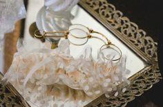 Polkadot tulle wedding garter, for a vintage glam wedding-by The Garter Girl