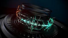 broadcast on Behance From Software, Motion Design, Sketch, Behance, Design Inspiration, 3d, Bento, Digital Art, Animation