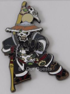 Blizzard Collectible Pins Series 3 Chen Stormstout Warcraft New Blizzcon 2016