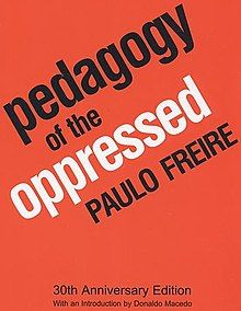 """""""Freedom is acquired by conquest, not by gift. It must be pursued constantly and responsibly. Freedom is not an ideal located outside of (individual men and women); nor is it an idea which becomes myth. It is rather the indispensable condition for the quest for human completion"""". According to Freire, freedom will be the result of praxis—informed action—when a balance between theory and practice is achieved."""""""