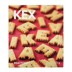 IKEA KEX biscuits Wholemeal biscuits for kids, just the right size for their little hands! £1.15