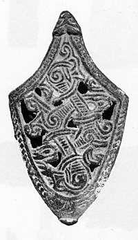 Viking age /The Jelling-style chape