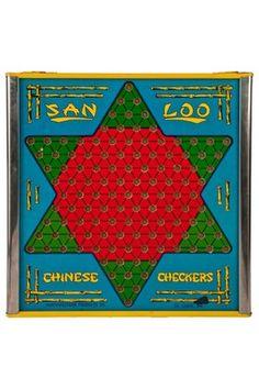 San Loo Chinese Checker Board