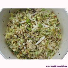 Jinxx' asiatischer Nudelsalat mit Frühlingszwiebeln