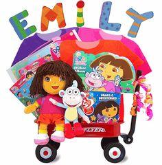 Dora the Explorer Wagon Gift Set!