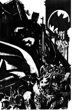 Batman by John Paul Leon *