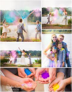 trash the Dress - Holi Powder Family shoot - Freedom by Photo Osenga