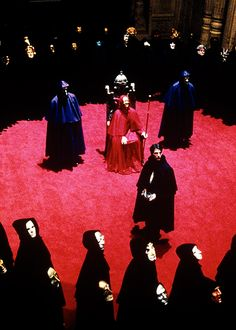 'Eyes Wide Shut', Stanley Kubrick, 1999. - Jocelyn Pook wrote the original music for 'Eyes Wide Shut', but like other Kubrick films the use of classical music was implemented. She used Waltz 2 from Shostakovich's 'Suite for Variety Stage Orchestra' which provided the film with delightfully mysterious background music.
